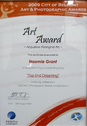art award belmont2009.jpg