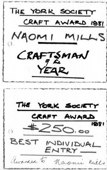 York Society art awards 1981lr.jpg
