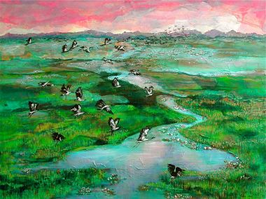 Flight of Freedom - Acrylic 122 x 91 cm